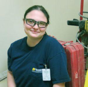 Kristina Williams - UVA Plumbing Apprentice