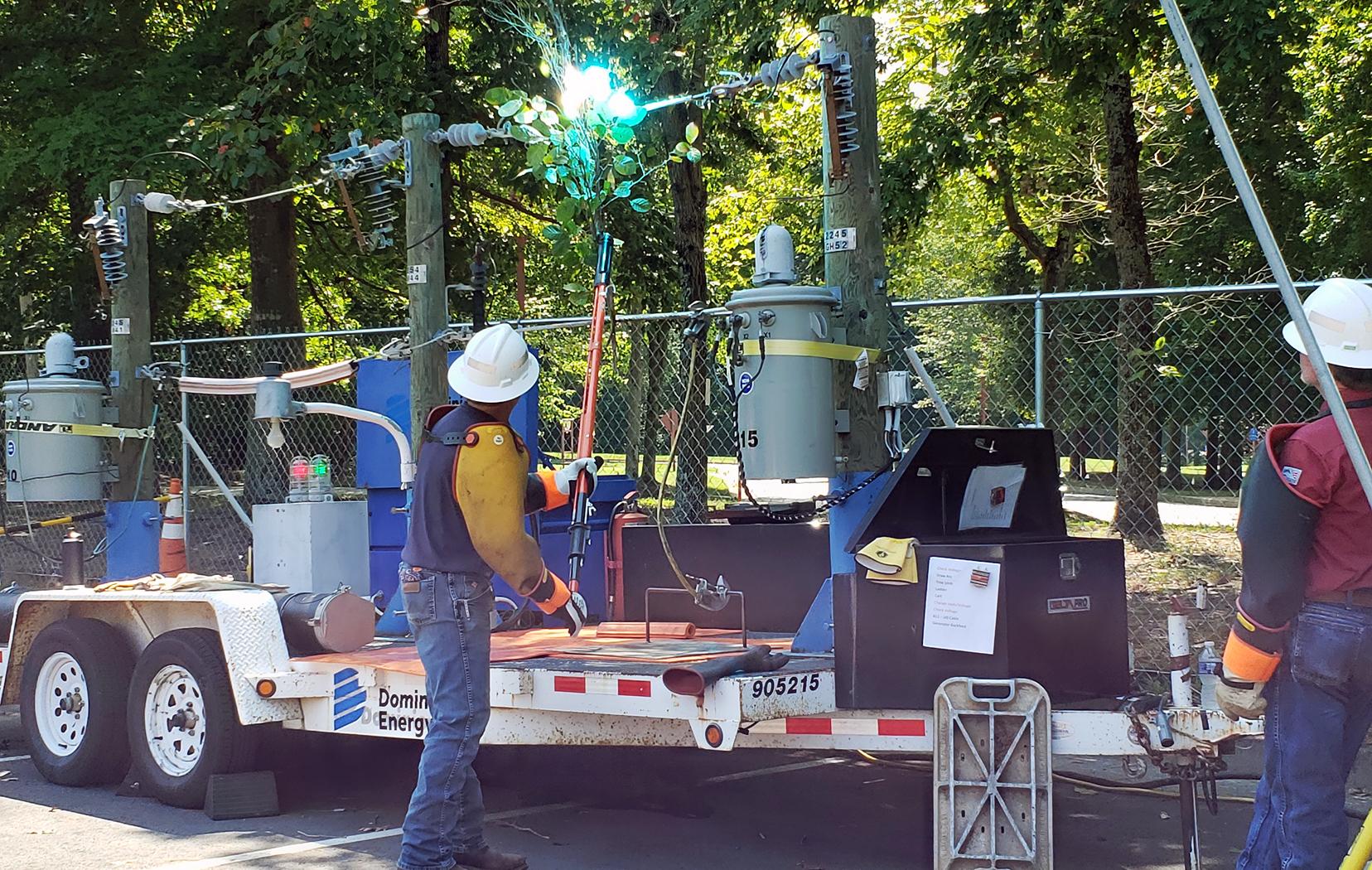 High Voltage Safety Demonstration
