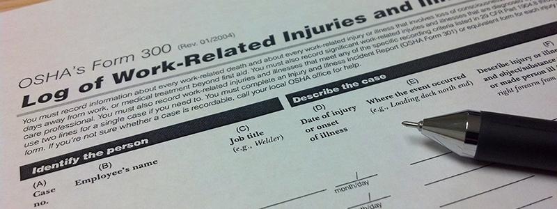 Injury Log